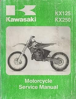 1999 KAWASAKI MOTORCYCLE KX125, KX250 SERVICE MANUAL 99924-1244-01 (118)