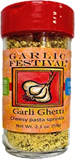 Garlic Festival Foods Garli Ghetti Cheesy Garlic Sprinkle 2.1 oz.