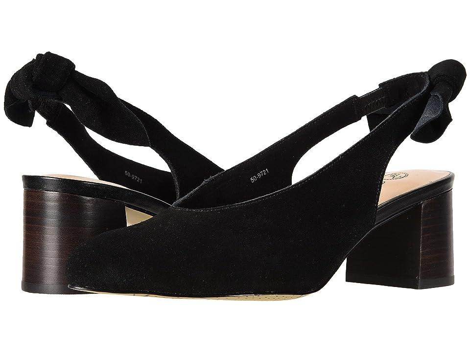 Bella-Vita Joni (Black Suede Leather) Women