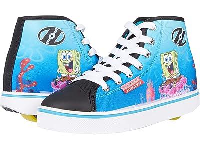 Heelys Hustle Spongebob (Little Kid/Big Kid/Adult) (Black/White/Multi) Boy