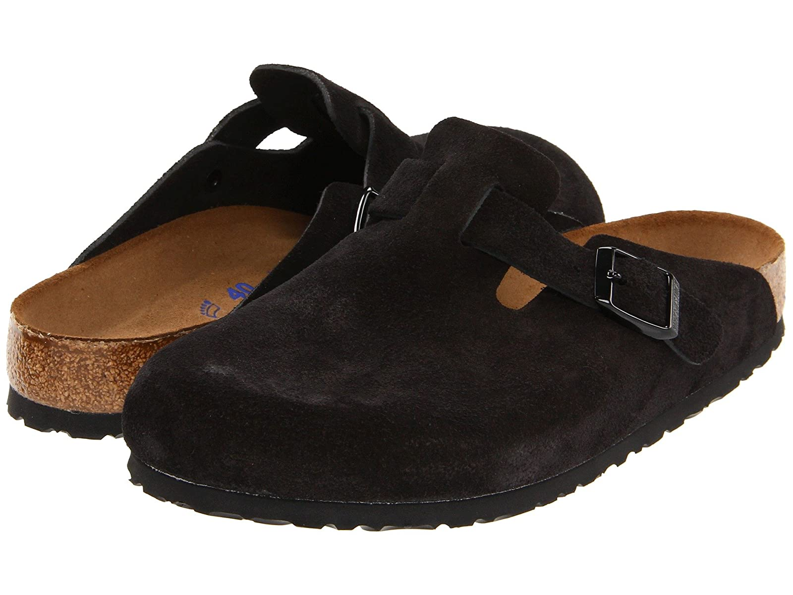Birkenstock Boston Soft Footbed (Unisex)Economical and quality shoes