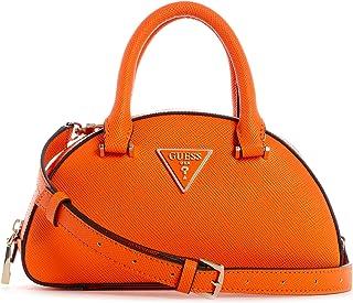 Guess Cordelia Mini Dome Satchel Orange