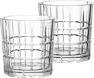 Leonardo - Gin - Trinkglas, Wasserglas, Saftglas - Glas - Becher niedrig - 360ml - 2 er Set