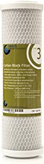 Avanti Membrane Technology Stage 3 Carbon Block Filter for under-sink RO filtraiton drinking water system - NSF certified, 5 micron, 10 inch, 2.5