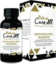 Nature's Cure-All Antifungal Nail Fungus Treatment Solution (15ml)   Maximum Strength with Undecylenic Acid   100% Natural & Safe   Kills Nail Fungus & Infections, Nourish Nails & Reverse Damage