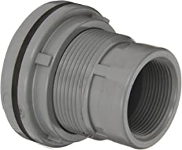 Spears 8172-C Series CPVC Bulkhead Tank Adapter, Schedule 80, Gray, 4