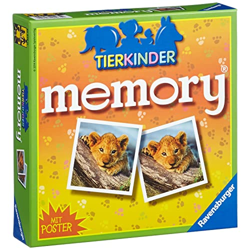 "Ravensburger 21275 0 ""Animal Children Memory Game"