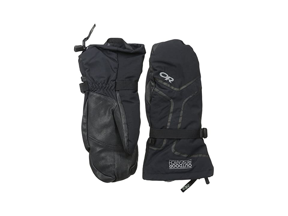 Outdoor Research Highcamp Mitts (Black) Extreme Cold Weather Gloves