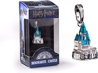 The Noble Collection Lumos Harry Potter Charm No. 3 - Hogwarts Castle (Silver Plated)