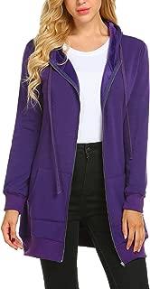 Best tunic zip up sweatshirt Reviews