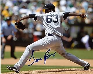 Signed Jose Ramirez Photo - NEW YORK YANKEES 8x10 - Autographed MLB Photos