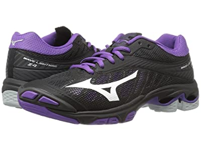 Mizuno Wave Lightning Z4 (Black/Violet) Women