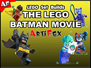 Clip: Lego Set Builds The Lego Batman Movie - Artifex