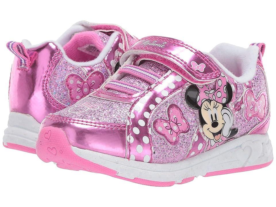 Josmo Kids Minnie Metallic Sneaker (Toddler/Little Kid) (Pink) Girl