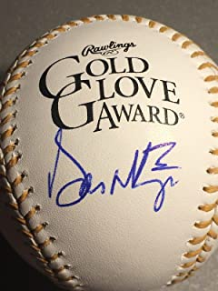 Don Mattingly Signed Ball - Oml Gold Glove - Autographed Baseballs