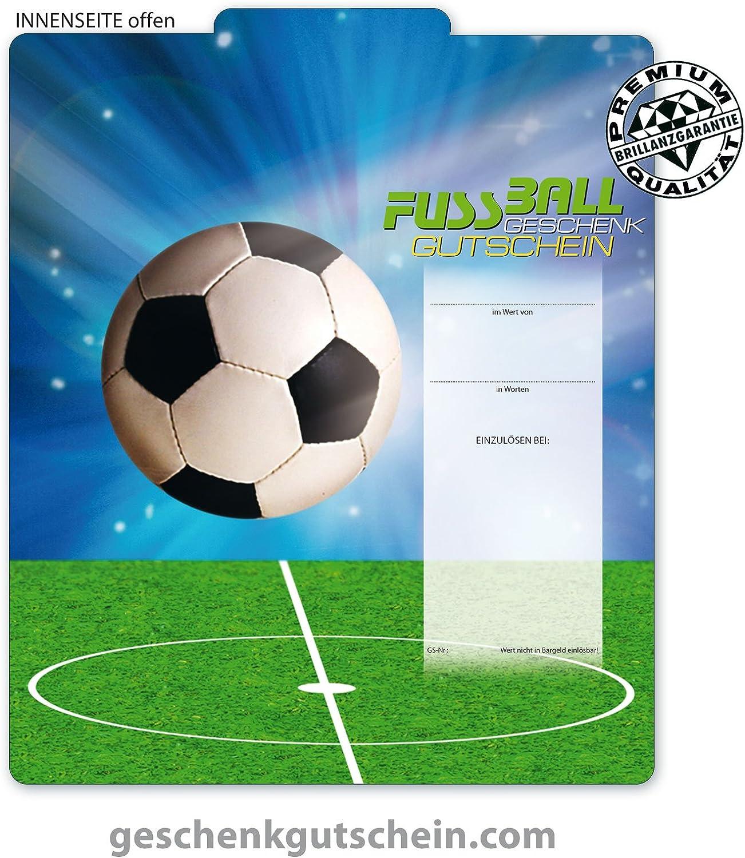 50 Stk. Premium Geschenkgutscheine Gutscheine zum Falten MultiFarbe  für Fußball, Sportwetten SP226, LIEFERZEIT 2 bis 4 Werktage  B00JWL96DU | Neues Design