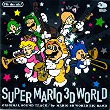 Super Mario 3D World Game Soundtrack 2-CD Set