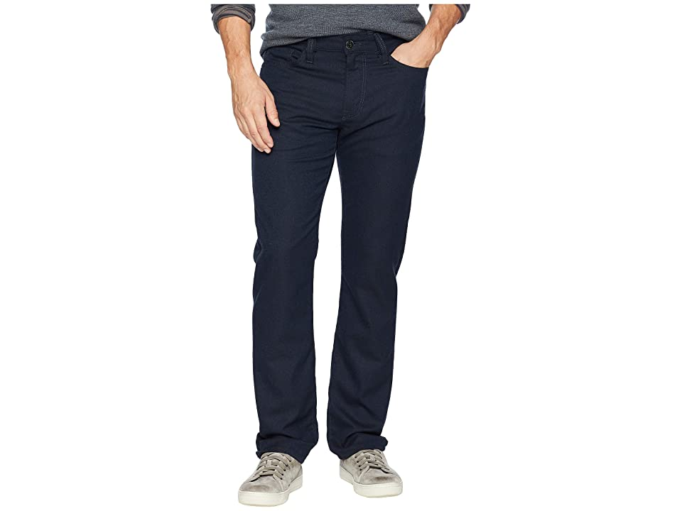 Image of 34 Heritage Courage Straight Leg in Navy Feather Tweed (Navy Feather Tweed) Men's Jeans