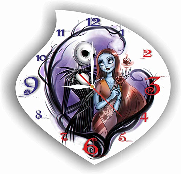 FBA The Nightmare Before Christmas 11 4 Handmade Wall Clock Get Unique D Cor For Home Or Office Best Gift Ideas For Kids Friends Parents And Your Soul Mates