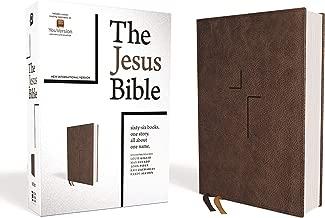 The Jesus Bible, NIV Edition, Leathersoft, Brown, Comfort Print