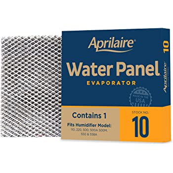 Aprilaire - 10 A1 10 Replacement Water Panel for Whole House Humidifier Models 110, 220, 500, 500A, 500M, 550, 558 (Pack of 1)
