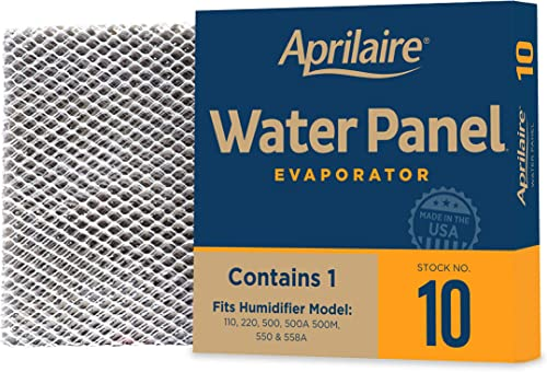 Aprilaire - 10 A1 10 Replacement Water Panel for Whole House Humidifier Models 110, 220, 500, 500A, 500M, 550, 558 (P...