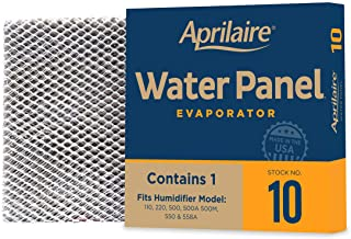 Best Aprilaire 10 Replacement Water Panel for Aprilaire Whole House Humidifier Models 110, 220, 500, 500A, 500M, 550, 550A, 558 (Pack of 4) Review