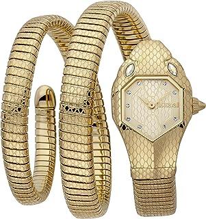 Just Cavalli Signature Snake Serpente Doppio Stainless Steel Watch JC1L168M0035 - Quartz Analog for Women in Stainless Ste...