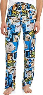 Men's Novelty Save Your Drama for Your Llama Microfleece Sleep Lounge Pants