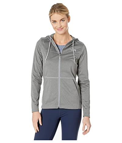 The North Face Tech Mezzaluna Hoodie (TNF Medium Grey Heather/TNF Medium Grey Heather) Women