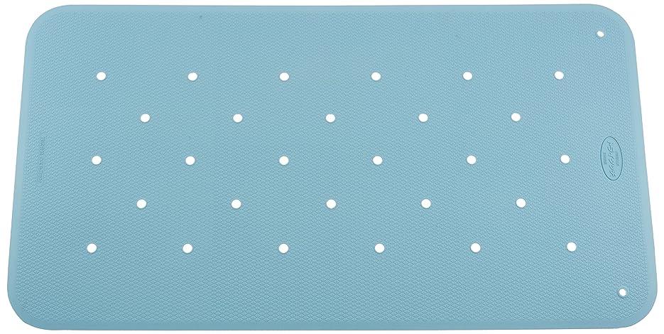 閃光発生奴隷ウェルファン お風呂用すべり止めマット  トライタッチ ブルー Lサイズ
