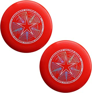 Discraft 175 Gram Ultra Star Sport Disc - 2 Pack