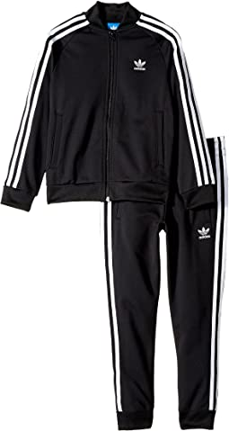 adidas Originals Kids - Superstar Tracksuit (Toddler/Little Kids/Big Kids)