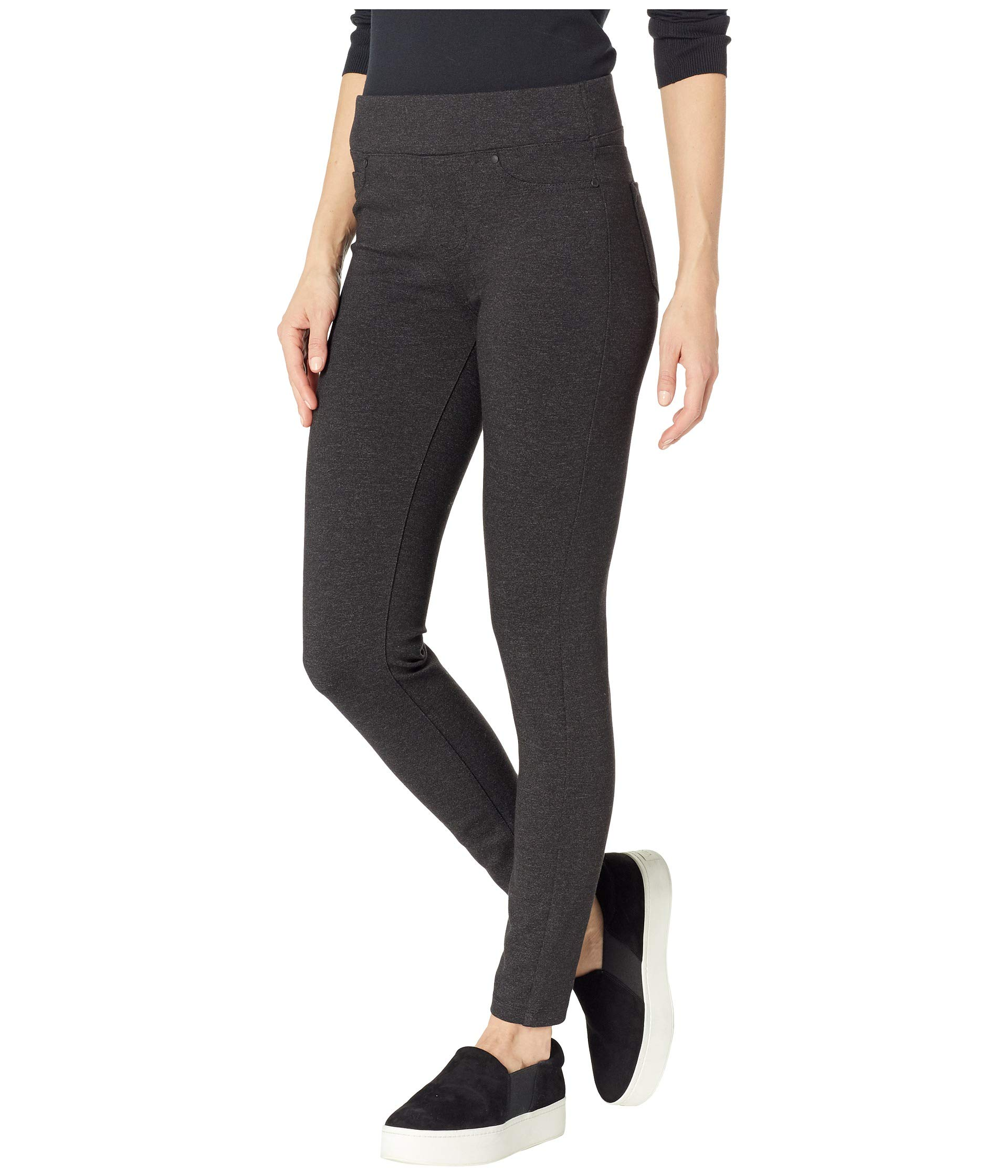Knit Leggings on Ponte Liverpool Sienna Charcoal In Pull Marled q0w6Ht