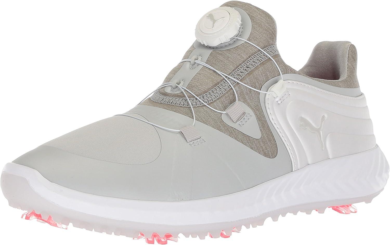 Atlanta Mall Challenge the lowest price of Japan Puma Golf Women's Ignite Blaze Gray Sport Shoe Disc Violet