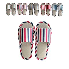 c0574a7e460d zisheng Women s and Men s Couple Slippers Super Comfy Cotton .