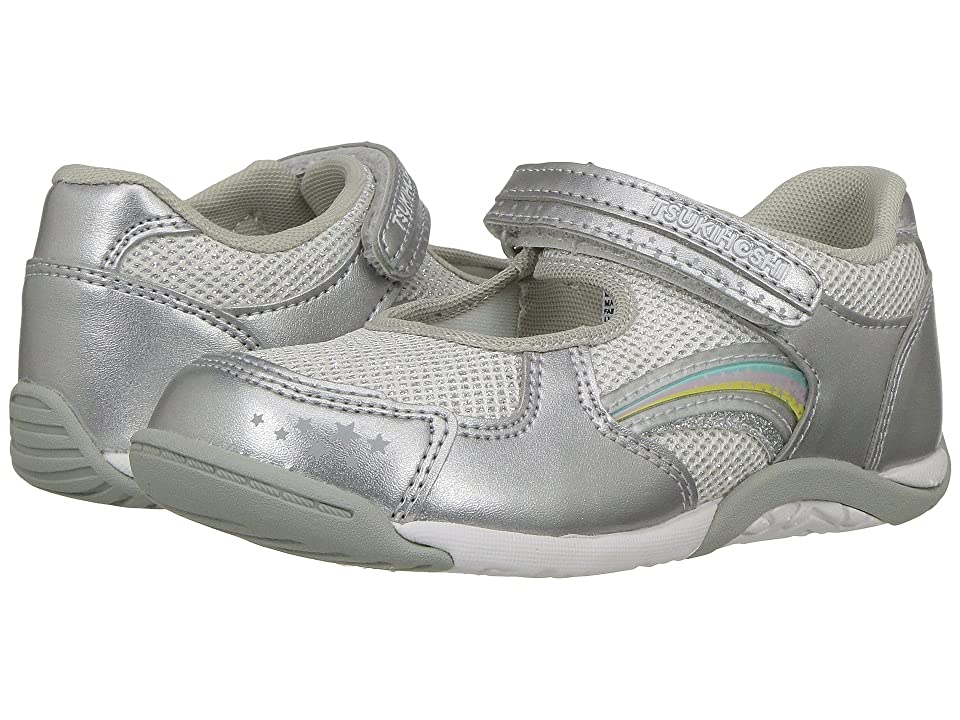 Tsukihoshi Kids Twinkle (Toddler/Little Kid) (Silver/Silver) Girls Shoes