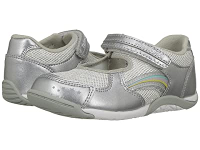 Tsukihoshi Kids Twinkle (Toddler/Little Kid) (Silver/Silver) Girls Shoes