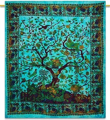 Handicrunch árbol de la tapicería de la pared cuelgan tapices ...