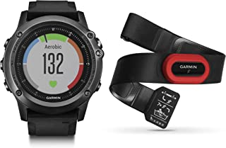 Garmin Fenix 3 HR, Gray Performer Bundle