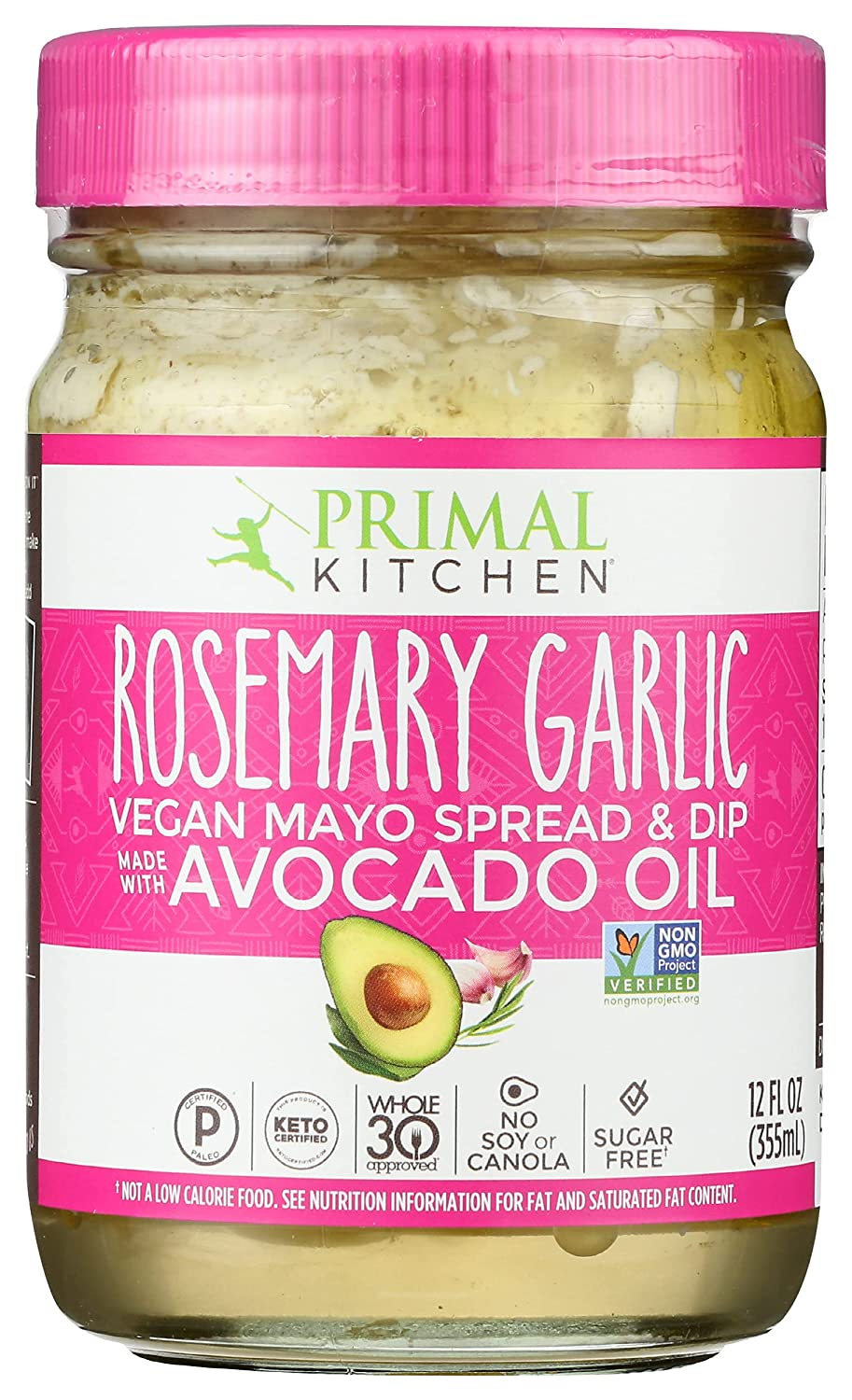 Primal Kitchen Rosemary Garlic Limited price Shipping included Avocado FZ 12 Mayo Oil