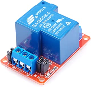 KNACRO SLA-12VDC-SL-C 1 Channel relay module DC 12V 30A With optocoupler isolation Support High level Low level (DC 12V)