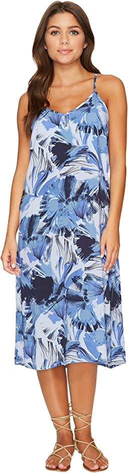 Chasing Shadows Floral Midi Dress