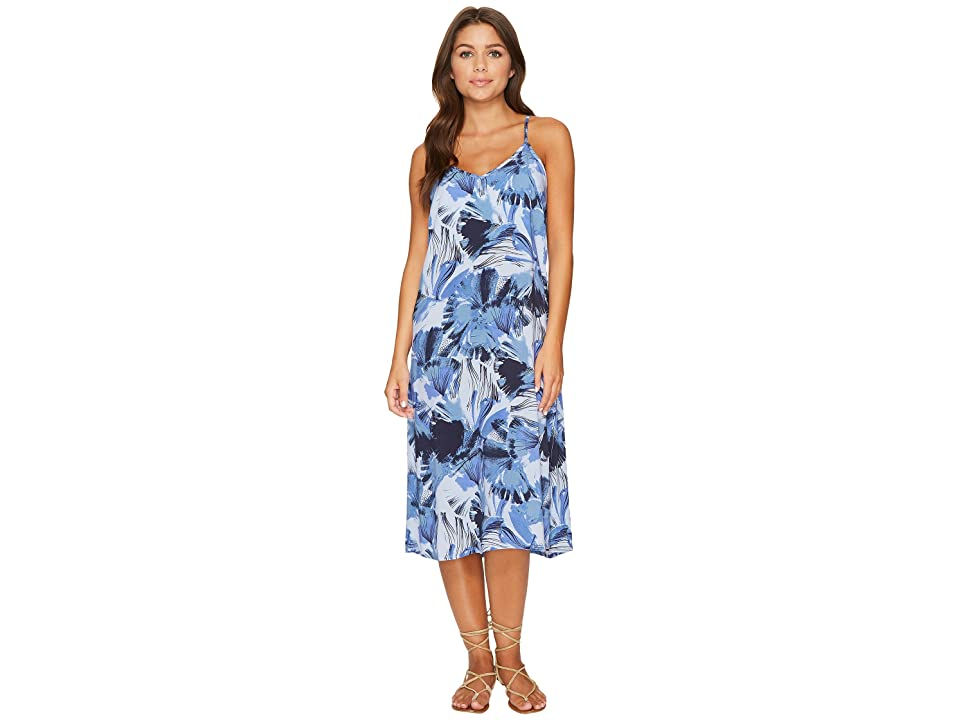 RVCA Chasing Shadows Floral Midi Dress (Horizon) Women