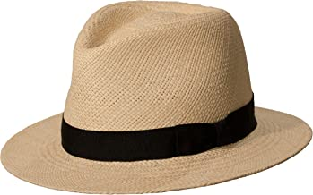Levine Hat Co. Genuine Panama 'Weekender' Downturn Brim Straw Hat