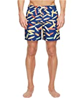 Original Penguin - Surfboard Fixed Volley Swim Trunk
