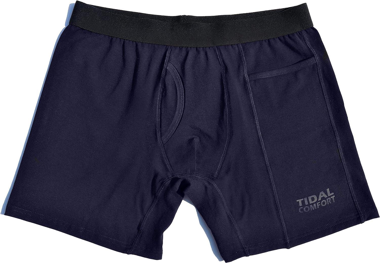 TIDAL COMFORT Pocket Boxer Brief (3 Pack)