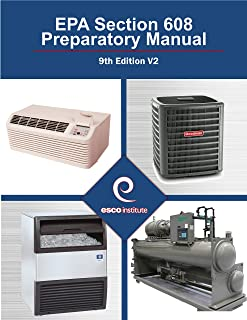 EPA Section 608 Preparatory Manual : 9th Edition V2
