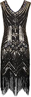 Ro Rox Gloria Great Gatsby Costume 1920's Cocktail Party Tassel Flapper Dress
