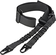 CVLIFE Two Points Rifle Sling with Length Adjuster Traditional Sling with Metal Hook for Outdoors